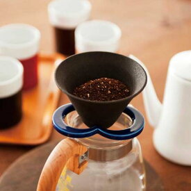 Coffe hat navyセラミックコーヒーフィルター多孔質性セラミック磁器キッチン用品インテリアギフト プレゼント224porcelain陶磁器・肥前吉田焼