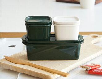 Ceramic Japan/陶瓷器日本她最好S尺寸罐系列保存容器厨房用品堆积微波炉使用可的瓷器荻野克彦