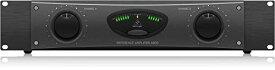 ベリンガー パワーアンプ 最大400W x 2出力(4オーム) リニアな周波数特性 スピコン/バインディングポスト端子搭載 A800