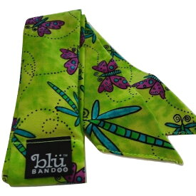 Blubandoo neck cooling scarf Coolmax scarf Cooling Neckwear【C】Dragonflies design prints Neck Wrap 冷却 クールスカーフ 首ひんやりタオル アメリカ製 暑さ対策 クールタオル 繰り返し使える【定形外で送料無料】