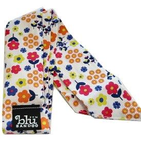 Blubandoo neck cooling scarf Coolmax scarf Cooling Neckwear 【N】Summer Blooms design prints Neck Wrap 冷却 クールスカーフ 首ひんやりタオル アメリカ製 暑さ対策 クールタオル 繰り返し使える【定形外で送料無料】