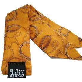 Blubandoo neck cooling scarf Coolmax scarf Cooling Neckwear【O】Home on the range design prints Neck Wrap 冷却 クールスカーフ 首ひんやりタオル アメリカ製 暑さ対策 クールタオル 繰り返し使える【定形外で送料無料】