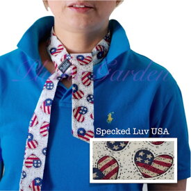 Blubandoo neck cooling scarf Coolmax scarf Cooling Neckwear【D】Speckled luv USA design prints Neck Wrap 冷却 クールスカーフ 首ひんやりタオル アメリカ製 暑さ対策 クールタオル 繰り返し使える【定形外で送料無料】