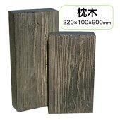 【プラスチック枕木】擬木プラボード220×100×900