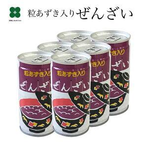 ぜんざい(おしるこ)190g×6本【おしるこ 缶】