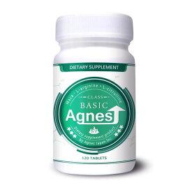 Agnes(Class-Basic)アニエス ベーシック (男性用 サプリメント 増大 Lアルギニン Lシトルリン・マカ 高配合 ) 1個
