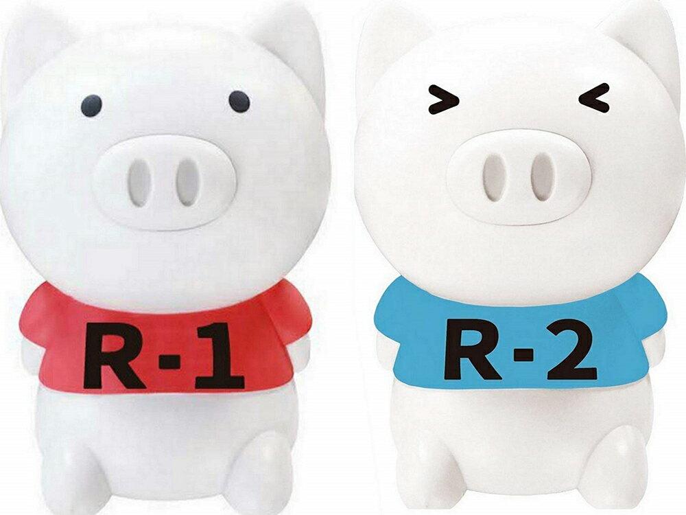 タイソウブーブーR1 & R2(ラジオ体操第一 & 第二)【2個セット】