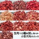 【愛犬・猫用】生肉10種お試しセット 小型犬向けパック 440g 各種生肉10種類 冷凍真空パック【クール便発送】ペッ…