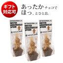 CHOCOLATE COMPANY ホットチョコスプーン ジンジャーブレッド 3セット/チョコレートカンパニー(ショコラショー ホッ…