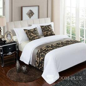 ベッドスロー ベッドライナー フットライナー フットスロー 布団カバー ホテル寝室 民泊 民宿 br-0240 在庫限り