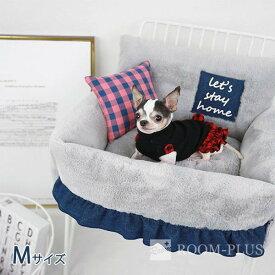 ペット用 ベッド 犬用 冬用 ドッグベッド キャット ベッド Mサイズ 犬 猫 防寒 冬用ベッド 海外直輸入 dbed-0075 新生活