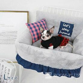 ペット用 ベッド 犬用 冬用 ドッグベッド キャット ベッド Lサイズ 犬 猫 防寒 冬用ベッド 海外直輸入 dbed-0076 新生活