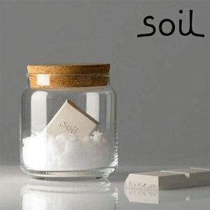 乾燥除湿剤 soil ソイル 珪藻土 ドライングブロック 日本製 砂糖 塩 固まらない 全4色 乾燥剤 食品用 除湿剤 【正規品】