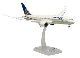hogan Wings(ホーガンウイングス) 1/200 ボーイング 787-8 ユナイテッド航空 WiFiレドーム付