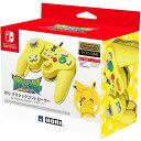 ホリ クラシックコントローラー for Nintendo Switch ピカチュウ ポケモン ポケットモンスター Pokemon 任天堂 Switch 周辺機器