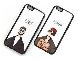iphone ケース おもしろ LEON iPhone 7 8 X XR XS XSMax ケース 白 耐衝撃 スマホケース アイフォン カバー 軽量 おしゃれ かわいい 映画 韓国 レオン マチルダ 誕生日 記念日 select ギフト プレゼント などに 5 5s se 6 6s Plus