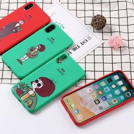 iphone ケース おもしろ LEON iPhone 7 8 X XR XS XSMax ケース 緑赤 耐衝撃 スマホケース アイフォン カバー 軽量 おしゃれ かわいい 映画 韓国 レオン マチルダ プレゼント select ギフト プレゼント などに