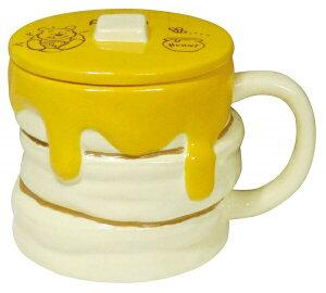 【送料無料】ディズニー 「 くまのプーさん 」 ハニーホットケーキ型 マグカップ 330ml SAN2948 サンアート sunart ディズニー Disney おしゃれ かわいい プレゼント