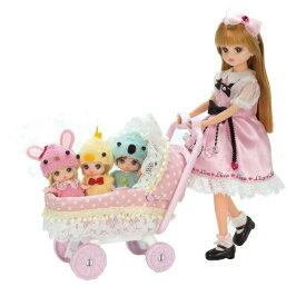 リカちゃん LF-11 みつごのあかちゃんベビーカー タカラトミー おもちゃ プレゼント