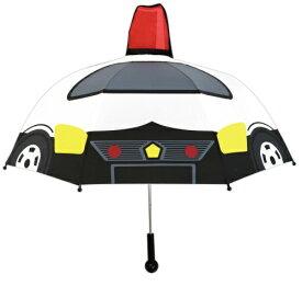 【送料無料】キャラクター乗り物傘 パトカー 47cm 19321 ジェイズプランニング かさ プレゼント