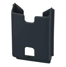 車用 カードホルダー ブラック 最大8枚収納 ソフト素材 両面テープ取付 汎用 JK-51 ナポレックス