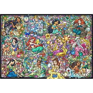 【送料無料】1000ピース ジグソーパズル ディズニープリンセス コレクション ステンドグラス 51.2x73.7cm DS-1000-776 テンヨー Tenyo