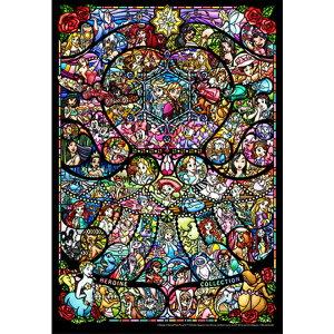 【送料無料】500ピース ジグソーパズル ディズニー&ディズニー ピクサー ヒロインコレクション ステンドグラス 25x36cm DSG-500-489 テンヨー Tenyo