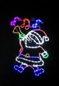 【送料無料】LEDチューブライト ミュージカルサンタ WG-8451 友愛玩具 クリスマス イルミネーション プレゼント