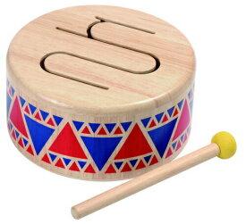 ソリッドドラム 6404 プラントイ PLANTOYS 木のおもちゃ ギフト プレゼント 楽器 太鼓