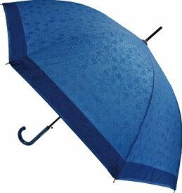 あす楽【送料無料】 撥水耐風傘 桜唐草 ブルー 60cm JK-95 サントス カサ かさ レディース UVカット プレゼント