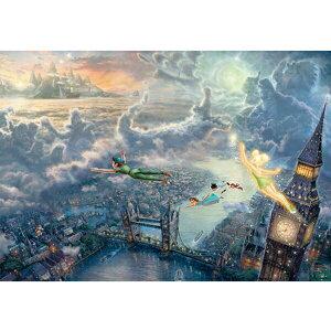 【ポイント最大26.5倍 ※要エントリー】【送料無料】1000ピース ジグソーパズル ピーターパン Tinker Bell and Peter Pan Fly to Never Land スペシャルアートコレクション 51x73.5cm テンヨー Tenyo