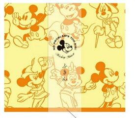 90周年記念限定品 ディズニー ミッキー&フレンズ D−MF43 ふきん イエロー 51598 maebata Disney mickey mouse ミッキーマウス プレゼント