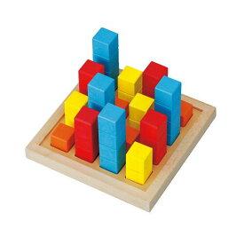 ビルディング EH-02 ♪パズル道場の脳トレワーク♪ 木のおもちゃ 平和工業 知育玩具 プレゼント