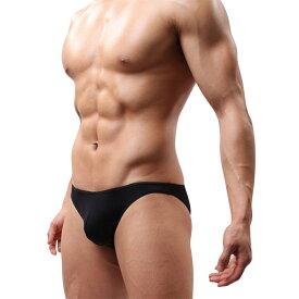 シンプル 無地 カラバリ豊富 メンズブリーフ ローライズ ビキニ パンツ 下着 インナー メンズ 男性用