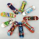 送料無料指スケボー 指でスケートボード おもちゃ ミニスケートボード フィンガースケート 人気 ランダム フィンガー…