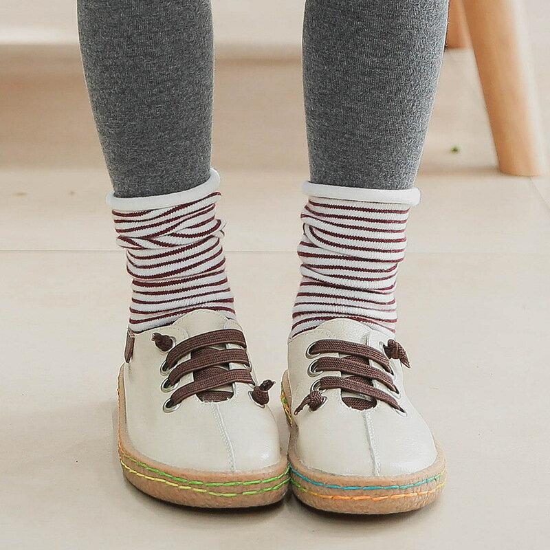 送料無料 靴下 ソックス キッズ 子供靴下 キッズソックス ボーダー クルーソックス 小物 バイカラー 配色 細ボーダー