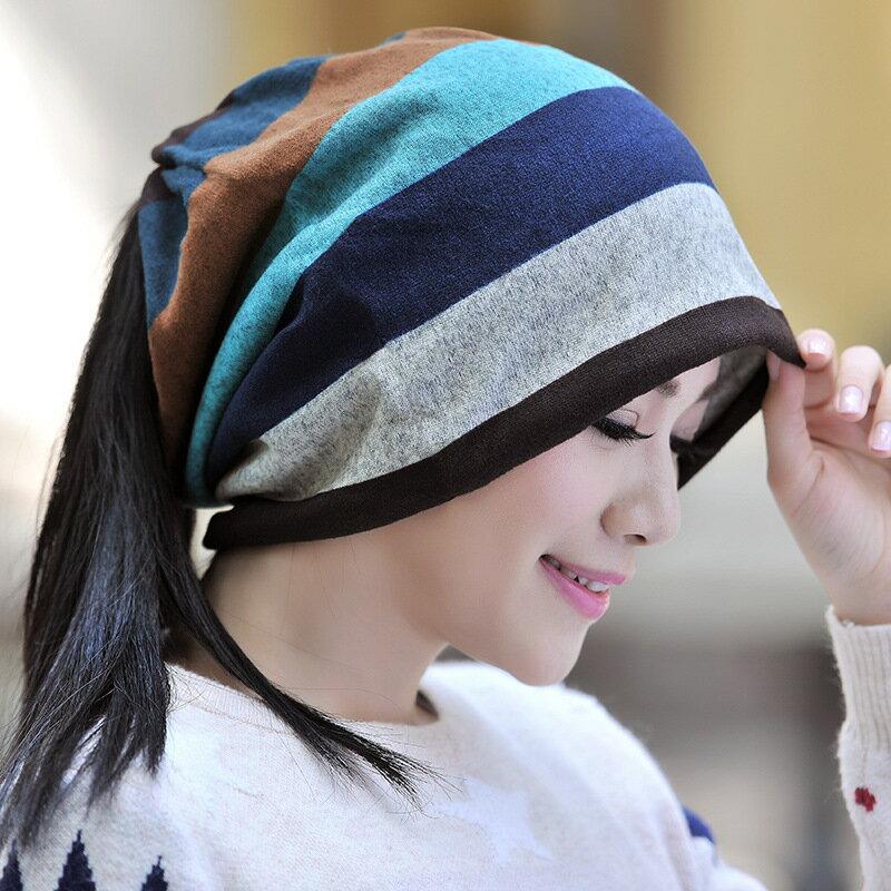 2タイプ ニット帽 ニットキャップ 帽子 ぼうし ネックウォーマー スヌード ヘアターバン ボーダー柄 裏起毛 男女兼用 レディース メンズ 暖かい あったかい 防寒対策 秋冬 カジュアル ポニーテールOK まとめ髪OK 筒状 チューブ