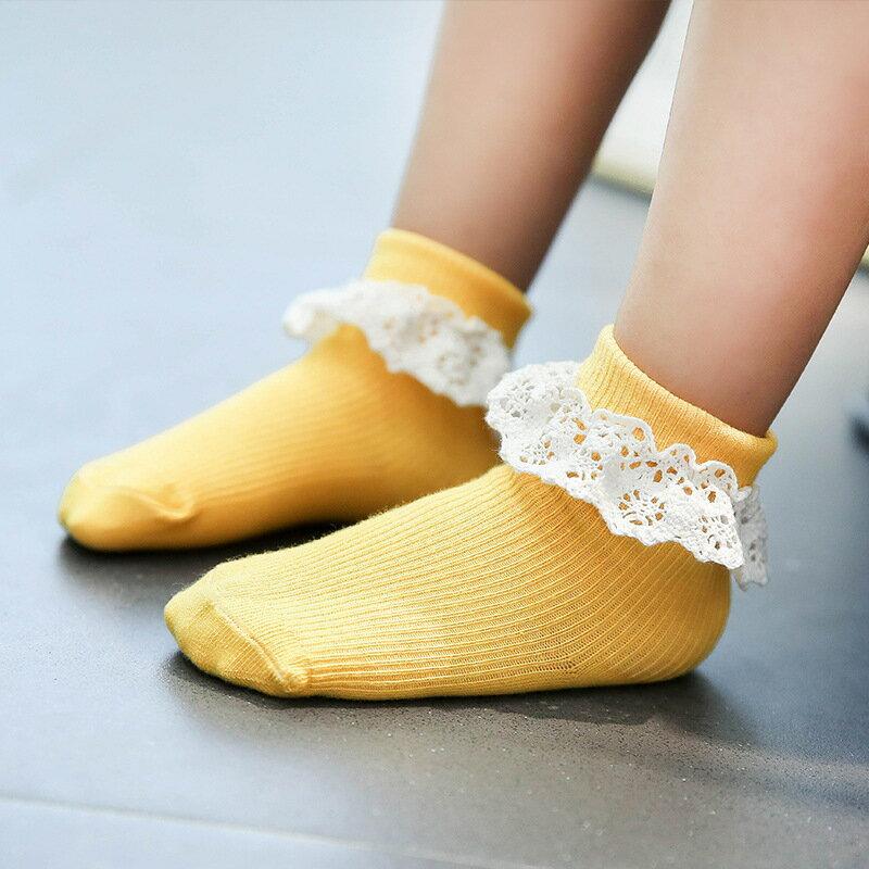 送料無料 靴下 ソックス ベビー キッズ レース ショート 女の子 ベビーソックス キッズソックス ベビー靴下 キッズ靴下 子供靴下
