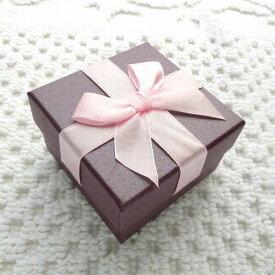 送料無料ジュエリーボックス ジュエリーケース ギフトボックス プレゼントボックス アクセサリーケース アクセサリーボックス 箱型 四角形 リボン ピアス リング ブレスレット ブローチ プレゼント ギフト 贈り物 誕生日 お祝い クリスマス バレンタイン