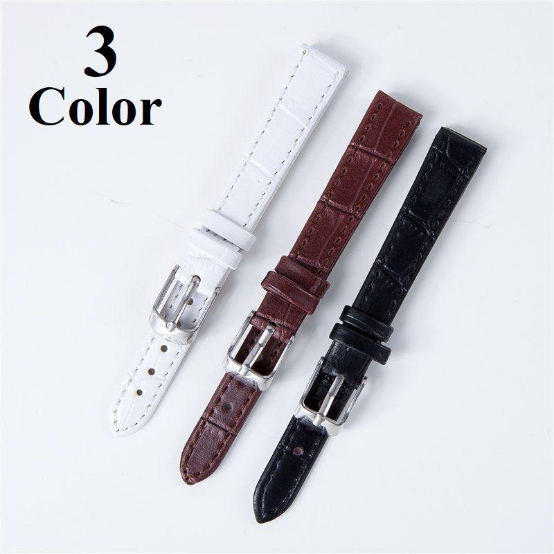 替えベルト 腕時計用 交換ベルト 時計 20mm 18mm 14mm 12mm バンド パーツ ブラック ブラウン ホワイト 男性 女性 男女兼用 交換 ウォッチ 無地 シンプル メンズ レディース