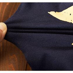 長袖TシャツカットソーロンTプリントTシャツ子供服男の子女の子男児女児秋冬トップススター柄星柄バックプリントクルーネック可愛いボーイッシュおしゃれ90cm100cm110cm120cm130cm