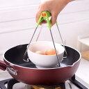 蒸し物用トング 鍋つかみ 熱いものをらくらく取り出せる 鍋蓋つかみ 便利グッズ キッチン トング キッチンツール 万能…
