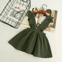 ジャンパースカート ジャンスカ サロペット キッズ 女の子 子ども服 シンプル ナチュラル キッズウェア ショート丈 ミ…
