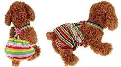 犬用マナーパンツ犬用サニタリーパンツ犬用パンツ犬用生理パンツ犬用オムツカバーおむつカバーサスペンダー付きドッグウェアドッグウエアずれないズレない脱げないトイレしつけ粗相レースボーダー花フラワーモチーフ可愛いかわい