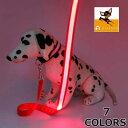 送料無料ペット用 リード リーシュ ロープ LED 光る 光るリード ペット ペット用品 ペットグッズ 犬 犬用品 愛犬 夜 …