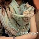 送料無料ストール スカーフ 大判 薄手 レディース 女性 婦人 UV対策 冷房対策 紫外線対策 おしゃれ オシャレ ファッシ…
