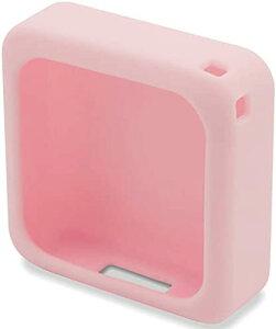 IoTBank まもサーチ2 専用ソフトカバー ピンク 子供を見守り 迷子防止 GPS 防水防塵 スマートトラッカー