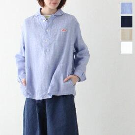 ダントン リネンクロス プルオーバーシャツ (JD-3564 KLS) LINEN CLOTH PULLOVER SHIRTS DANTON(レディース) *送料無料* ***