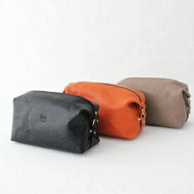 イルビゾンテ 3WAYレザーバッグ (54202300310) Leather Bag IL BISONTE(バッグ) *送料無料****
