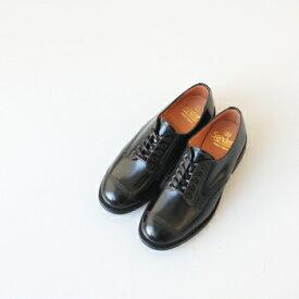 サンダース ミリタリーダービーシュー (1834B) MILITARY DERBY SHOE polished leather with itshide sole SANDERS(レディース) *送料無料*【ポイント10倍】楽天ブラックフライデー 11/19 20:00〜11/24 1:59